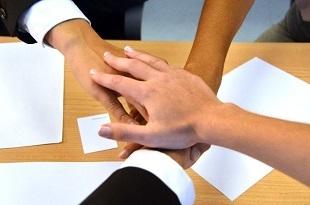 地域ケア会議の成功方法のイメージ